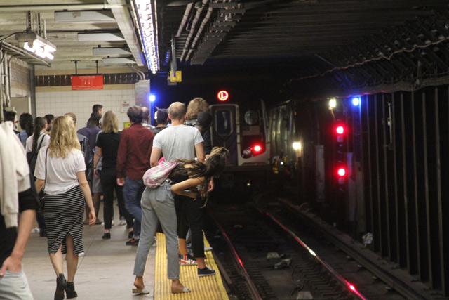 Man's Leg Mangled By L Train In Manhattan