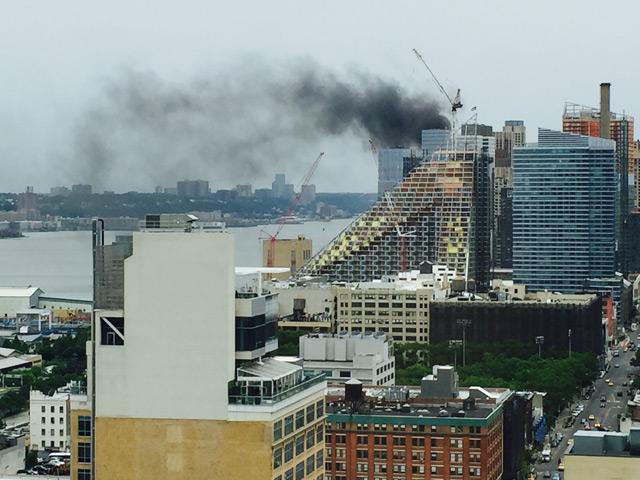 Video: Firefighters Battle Blaze At Luxury Condo On Upper West Side
