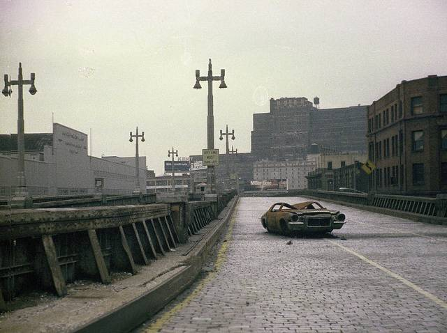 Check Out The Abandoned West Side Highway In The 1970s