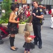 Desnuda Brings Topless Toddler Daughter To Times Square