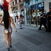 Times Square Desnuda Accused Of Prostitution Says She Was Set Up
