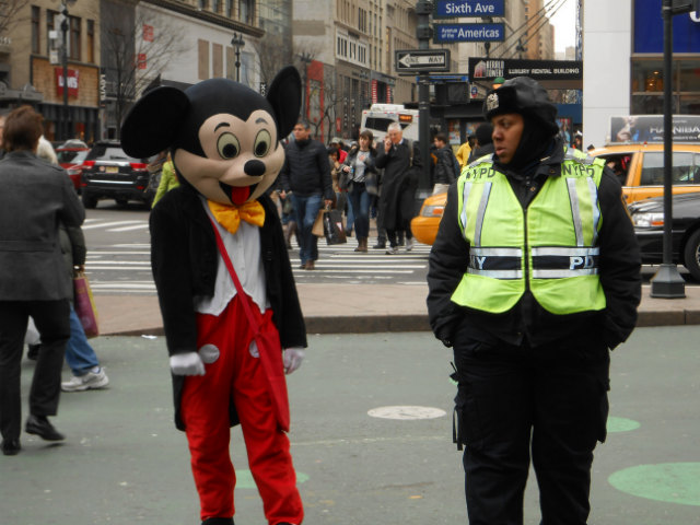 Mickey Mouse Arrested In Times Square For Harassing Child