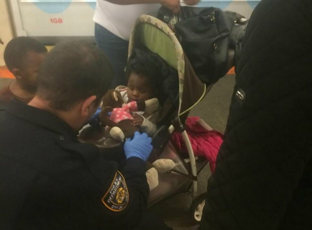 Good Samaritan Courageously Rescues Baby Who Fell In Gap Between Train & Platform At Times Square