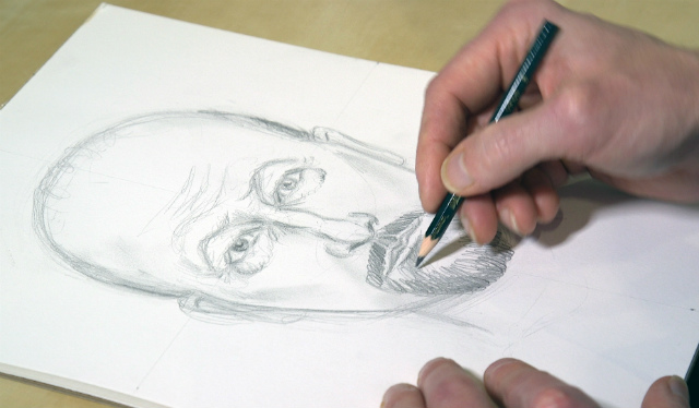 Watch NYPD's Incredible Sketch Artist Draw Louis C.K.