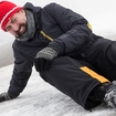 Allow Extra Travel Time To Slip & Fall On Ice This Morning