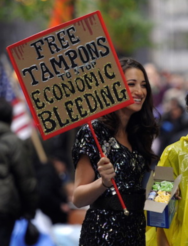 New York Votes To Abolish The Tampon Tax
