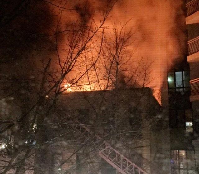 Devastating 6-Alarm Fire Rips Through Bushwick Row Houses, Injures 11