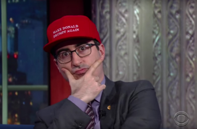 John Oliver Is Trying To Avoid A Trump Overload Because The Human Soul Can Only Handle So Much