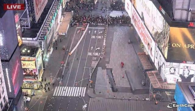 NYPD Evacuates Times Square Over Suspicious Truck