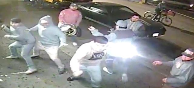 Video: Man Beaten By At Least 8 Others Outside Bushwick Restaurant