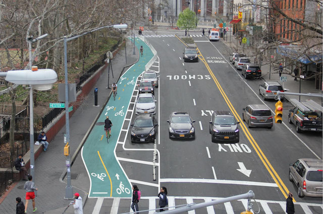 Chrystie Street Is Getting Its Two-Way Bike Lane This Summer