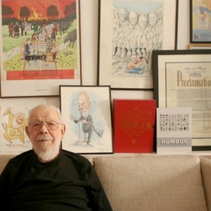 Hanging With Al Jaffee, MAD Magazine's 95-Year-Old Journeyman Cartoonist