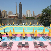 There\'s A Rainbow Pool On Roosevelt Island