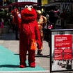 Times Square 'Designated Activity Zones' Make Elmo 'Feel Like A F---ing Caged Animal'