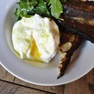 Drool Over This Amazing Soft Egg In Burrata Toast At Queens Kickshaw