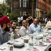 Photos: Hundreds Of NYers Celebrated Ramadan Outdoors At One Long Table