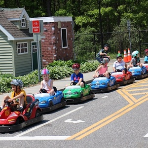 Video: Kids Cruise Miniature Town In Tiny Cars To Learn About Traffic Safety