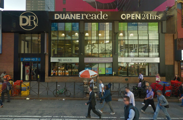 Man Slashed In The Neck Outside Duane Reade Near Times Square