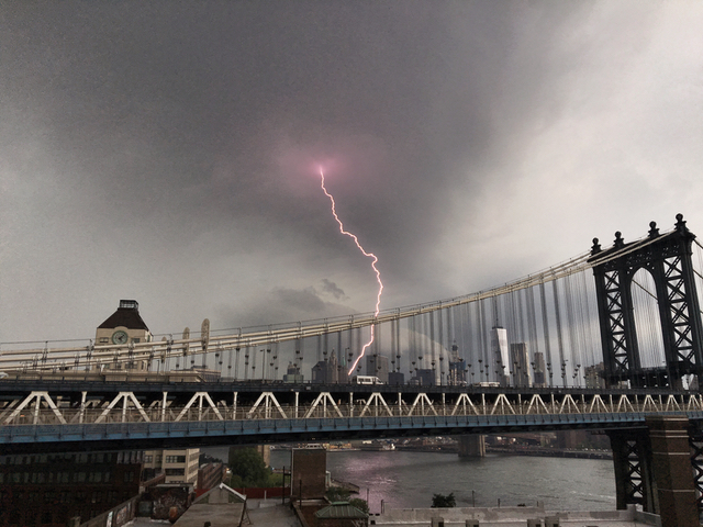 The Weather Is Happening: Thunder, Lightning, Hail, Instagrams!