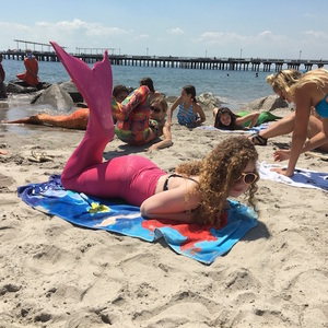 Video: Being A Mermaid Ain't Easy. So I Went To Mermaid School