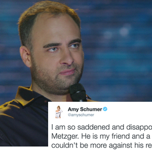'Inside Amy Schumer' Writer Mocked Women Calling Out Alleged Rapist On Twitter