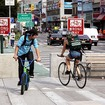 Treacherous Stretch Of Delancey Street Will Get Protected Bike Lanes