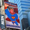 Is Anything Dumber Than This 'Super Trump' Ad In Times Square?