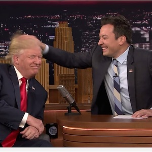 Nice Moves Normalizing A Racist, Sociopathic Scumbag, Jimmy Fallon!