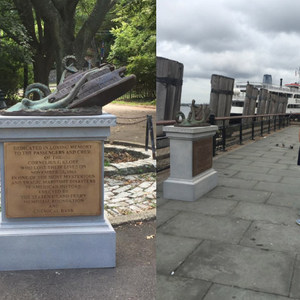 Artist Tricks Tourists With Elaborate Monument To Staten Island Ferry Octopus Attack
