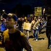 Demonstrators Block Traffic To Protest Police Shooting Of Emotionally Disturbed Woman