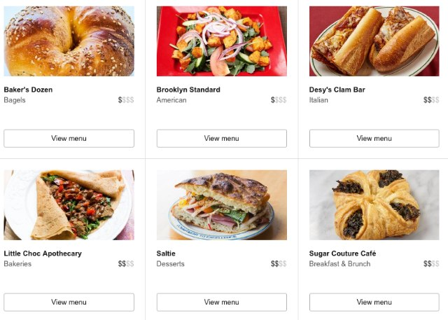 Amazon's Now Offering Restaurant Delivery In Brooklyn