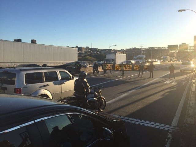 Update: 10 Protesters Arrested After Shutting Down George Washington Bridge's Upper Level