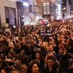 Horrified New Yorkers March In Protest Of President-Elect Trump