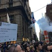 Thousands Of NYers March Up Fifth Ave. In Protest Of Donald Trump