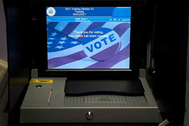 Your Ballot Selfies Are Still Illegal, But A Poll Worker Will Probably Just Yell At You