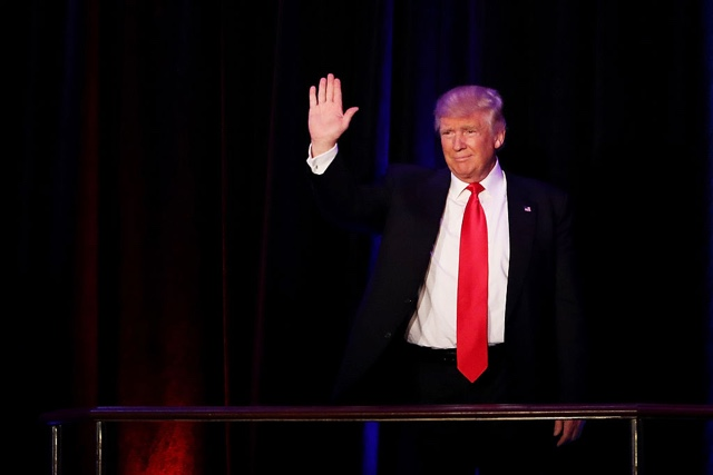 President-Elect Donald Trump: 'I Will Be President For All Americans'