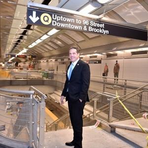 Photos: 'Cautiously Optimistic' Cuomo Visits 2nd Avenue Subway Station