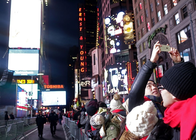 Here's Your Livestream Of Times Square New Year's Eve