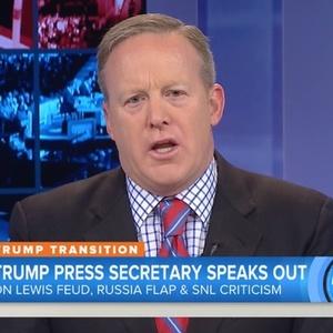 Trump Spokesman: Rep. Lewis Started It & SNL Is Mean!