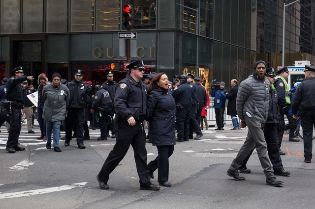 City Councilmembers & Others Resist Trump's Inauguration By Getting Arrested At Trump Tower