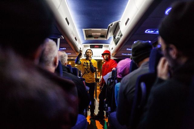Photos: Riding To D.C. On A Bus Full Of Trump Protesters