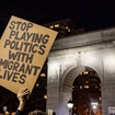 'It's Just So Stupid': NYers Pack Washington Square Park To Denounce Trump's Anti-Immigrant Orders