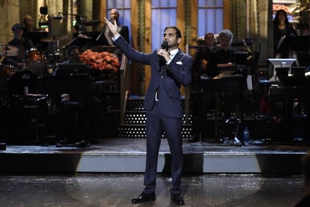 Aziz Ansari's Excellent SNL Monologue Addresses New Trump Order