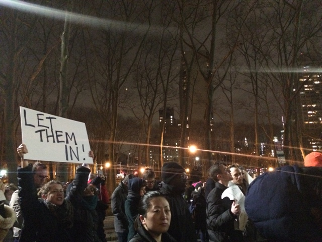 After Thousands Protest Immigration Ban, Federal Judge Grants Stay To Detainees