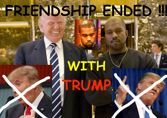 Real Friends: Kanye West Erases Trump Love From His Twitter