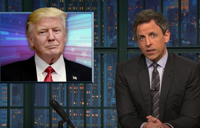 Video: Seth Meyers Analyzes Trump's Increasingly Desperate Attempts To Control The Narrative