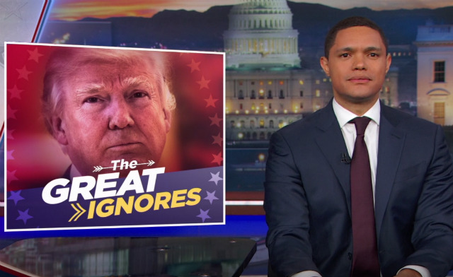 Stephen Colbert & Trevor Noah Examine Trump's Underreported Terror Attack List