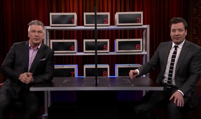 Video: Alec Baldwin & Jimmy Fallon Trade Trump Impressions