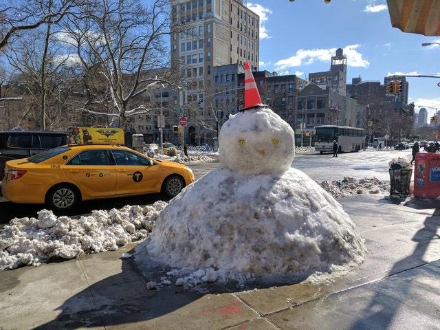 The Chinatown Snowman Rises Again