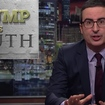 John Oliver Is Running Educational Fact Ads On The Shows Trump Watches